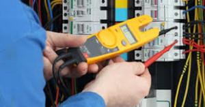 Hands clamping meter